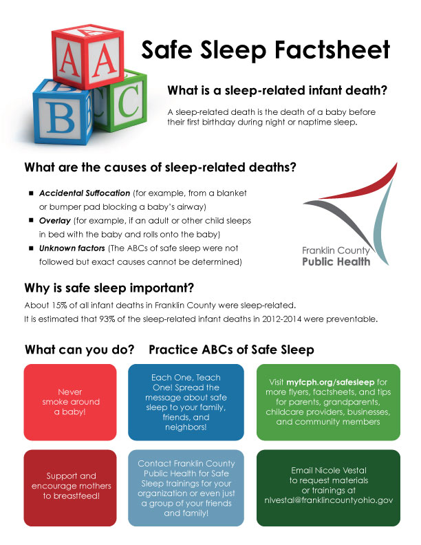 Safe Sleep Factsheet