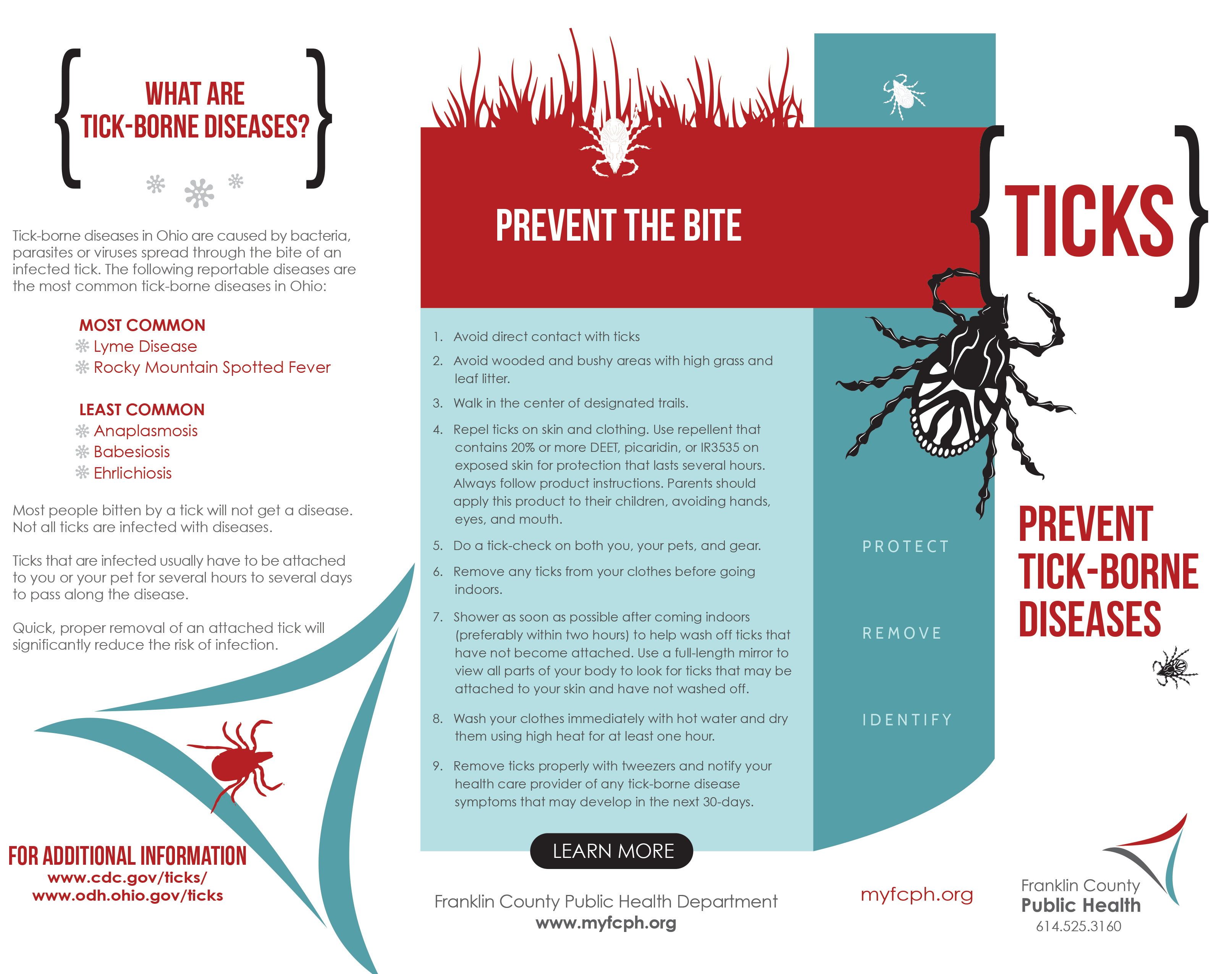 Ticks Franklin County Public Health