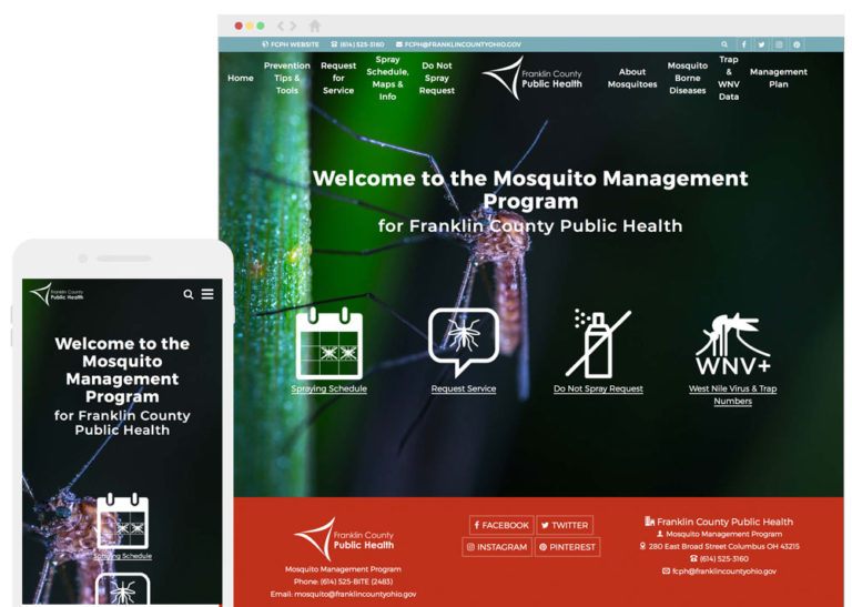 Mosquito Website