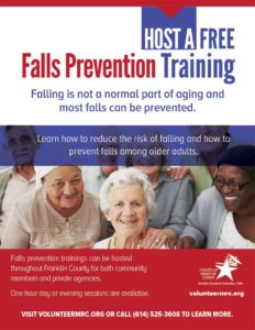 Image of Falls Prevention Training Flyer