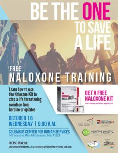 Naloxone Training Flier